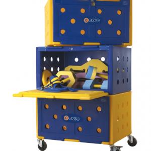 Box pour stockage de matériel (Okeo)